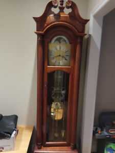 Antique Georgian Style Herschede  Grandfather clock
