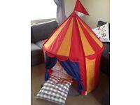 IKEA circus tent cirkustalt