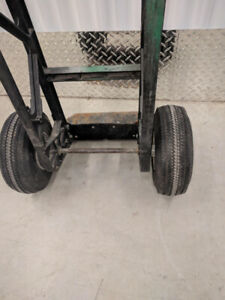 Dollies Handcarts, various styles, 8 available, pneumatic tyres