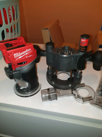 Milwaukee 2723-20 FUEL 18-Volt Li-Ion Brushless Cordless Compact Route