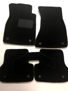 3D CAR MATS SET 5PCS MUD-RESISTANT FLOOR CARPET AUDI A6 2011+