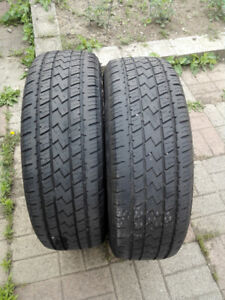 All season (2) tire size 225 / 65 R17