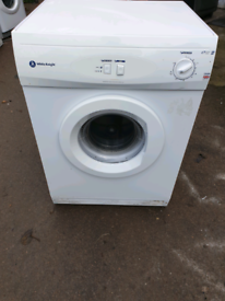 WHITE KNIGHT VENTED TUMBLE DRYER (6KG)(VENT PIPE INCLUSIVE)
