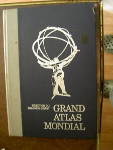 Le  Grand Atlas Mondial [ Fr ] 1977 West Island Greater Montréal image 1