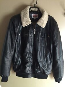 Men's Levi's Faux Leather Jacket