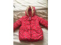 Toddler padded coat age 2-3