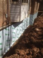 Professional Waterproofing -- Honest -- Reliable -- Qualified