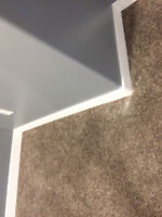 We install Baseboard, Casing  and trims,  all mouldings  install