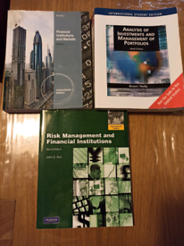 Finance and risk management books