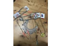 Bag of assorted necklaces