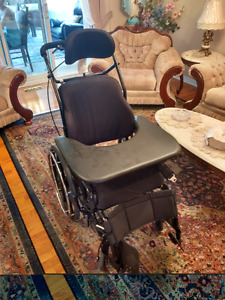 Invacare wheelchair with ROHO cushion for sale