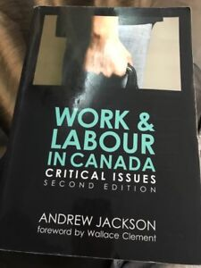 Work & Labour in Canada by Jackson