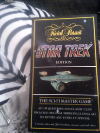 ⭐Star trek trivial pursuit⭐