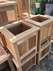 Cedar Planter Boxes - MUST SELL