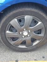 Winter tires for sale - 50% tread left