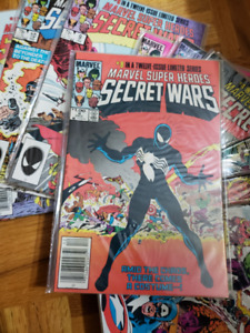 MARVEL SECRET WARS 1 - 8 COMPLETE SERIES