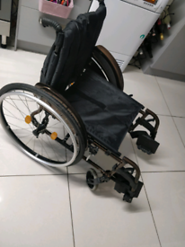 Quickie Life Folding Wheelchair