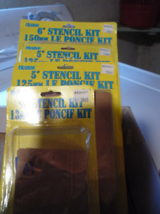 Lettering stencils clearance limited quantity