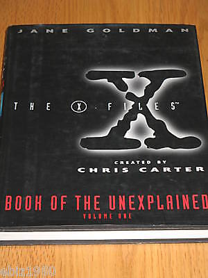 The X-Files Book of the Unexplained by Jane Goldman ...