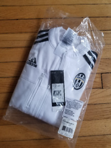 Brand New With Tags Juventus Anthem soccer track jacket