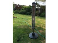 Barely used electric patio heater