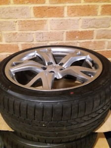 Nissan 370z 350z Rims and tyres