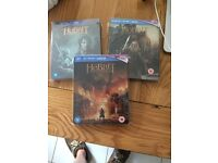 The Hobbit Trilogy-Bluray Steelbooks