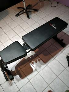 Bench press - adjustable incline decline
