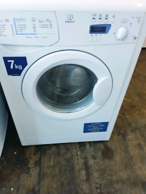 Indesit 7 kg washing machine been serviced free delivery