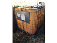 IBC container, diesel storage etc
