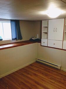 Appartement 3 1/2 Montmagny, loyer chauffé/éclairé dispo juillet