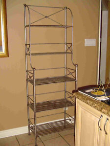 Pewter Bakers Rack - Pier One - Must Sell