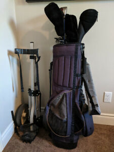 Golf clubs set and drivers