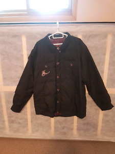Sound black snowboard coat xl