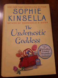 Sophie Kinsella: The Undomesticated Goddess - Hard cover