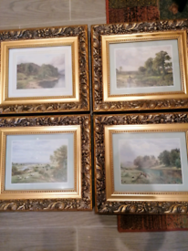 Four matching picture scenes.