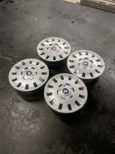 BMW steel wheels