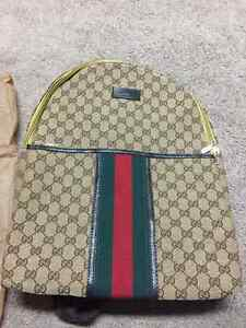 Brand New Gucci Backpack Made In Italy !! Perfect Gift !