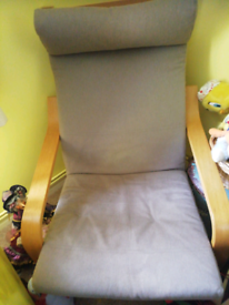 Gentle rocking/bounce chair