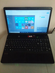 Fast and perfect condition Sony Vaio windows 10 laptop