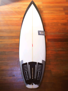 Christenson Channel Bottom Surfboard
