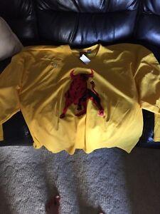 Belleville Bulls Warrior brand practice jersey