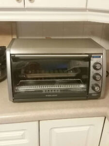 Black & Decker Stainless Steel Convection Counter-top Oven