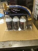 Do it yourself a/c car recharge kits
