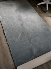 Grey carpet new offcut 270cm X 105cm free