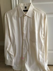 Men's Italian made dress shirts - chemises italiennes