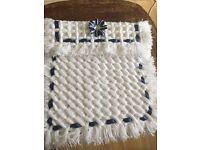 Hand made baby Pram blankets to order