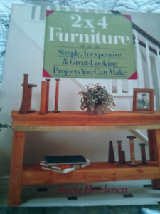 2 × 4 furniture (by: Stevie Henderson)