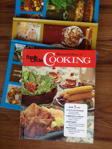 Lot of 9 Family Circle Illustrated Guide to Cooking 1972 EUC