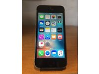 APPLE IPHONE 5S BLACK 16GB OPEN TO ANY NETWORK!
